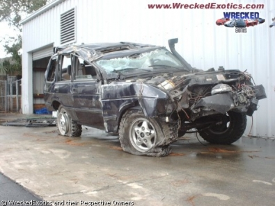 crash of suv - incidente con un suv